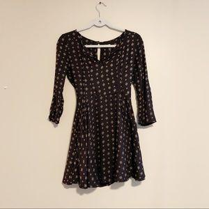 Hollister long sleeve dress